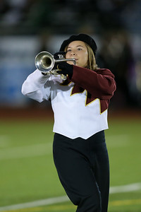 Kings Park High School performs at the 55th Annual Newsday Marching Band Festival at Mitchel Field Athletic Complex in Uniondale on Thursday, Oct. 19, 2017. (Credit: Chris Bergmann)