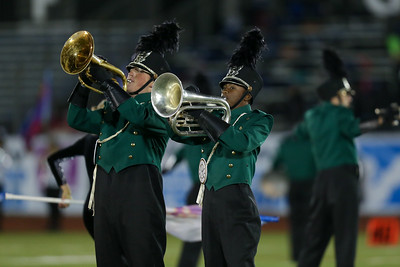 Lindenhurst High School performs at the 55th Annual Newsday Marching Band Festival at Mitchel Field Athletic Complex in Uniondale, October 17th, 2017