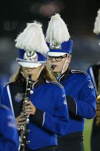 North Babylon High School performs at the 55th Annual Newsday Marching Band Festival at Mitchel Field Athletic Complex in Uniondale on Wednesday, Oct. 18, 2017. (Credit: Chris Bergmann)