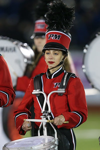 Patchogue-Medford High School performs at the 55th Annual Newsday Marching Band Festival at Mitchel Field Athletic Complex in Uniondale, October 17th, 2017