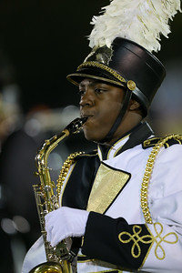 Uniondale High School performs at the 55th Annual Newsday Marching Band Festival at Mitchel Field Athletic Complex in Uniondale on Thursday, Oct. 19, 2017. (Credit: Chris Bergmann)