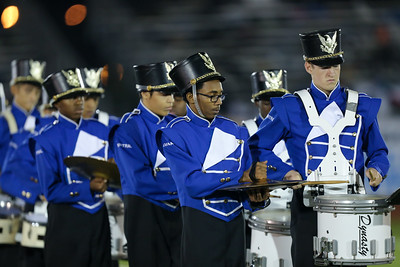 Valley Stream Central High School performs at the 55th Annual Newsday Marching Band Festival at Mitchel Field Athletic Complex in Uniondale on Wednesday, Oct. 18, 2017. (Credit: Chris Bergmann)