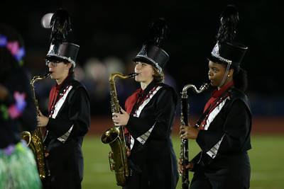 Valley Stream South High School performs at the 55th Annual Newsday Marching Band Festival at Mitchel Field Athletic Complex in Uniondale on Wednesday, Oct. 18, 2017. (Credit: Chris Bergmann)