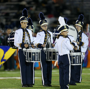 West Babylon High School performs at the 55th Annual Newsday Marching Band Festival at Mitchel Field Athletic Complex in Uniondale, October 17th, 2017