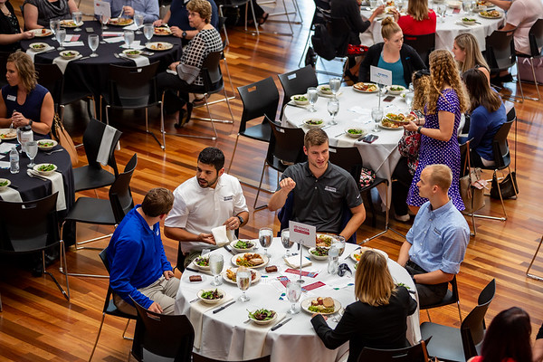 The NextGEN Lunch at The Commons in Columbus, Indiana on September 13, 2019. Photo by Tony Vasquez