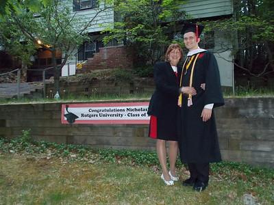 Nick's Graduation - Rutgers 2015
