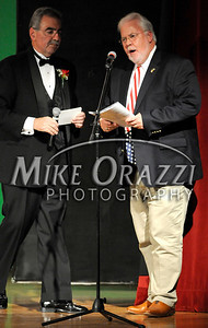10/4/2009 Mike Orazzi | The Bristol Press Councilman Cliff Block at the Miss Bristol 2009 Scholarship Pageant at Bristol Central High School.