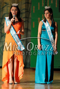 10/4/2009 Mike Orazzi | The Bristol Press Teen Miss Bristol Molly Westfall and Teen Miss Forestville Taylor Hira at the Miss Bristol 2009 Scholarship Pageant at Bristol Central High School.