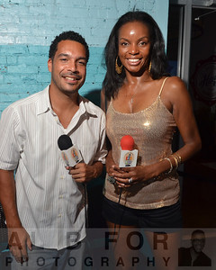 Curtis Marsh Jr. (Eagles cornerback) & Jenice Armstrong (Daily News)