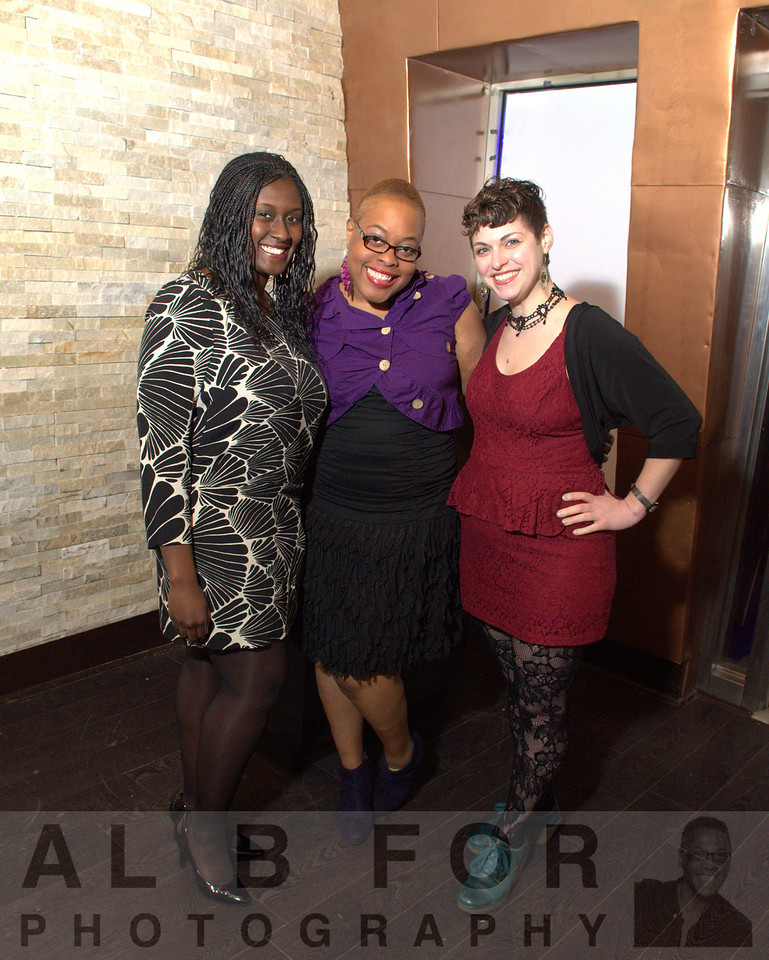 Hilary Asare (PR Radio), TS Hawkins (PR Radio) with Amelia Longo (Al B. For / Philly.com)