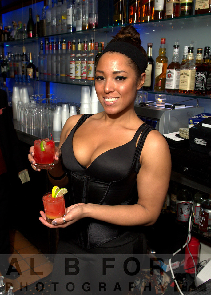 Alee Gunter (Mixologist) at The Tantra Luxe Lounge