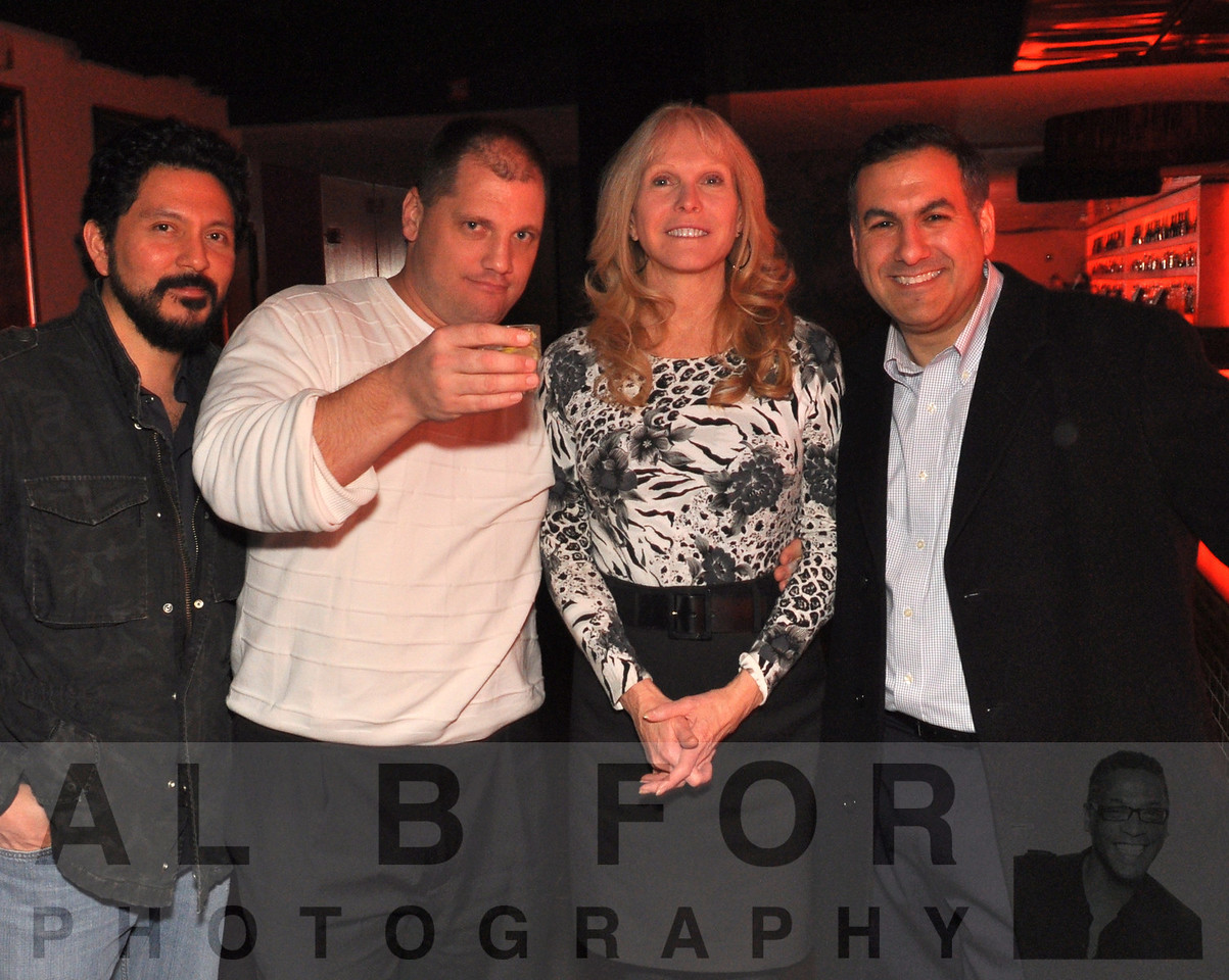 Jose D., Mike H., Ginna Waters & Tony Scott Dicarlo - The Legendary Robbie Tronco Celebrates 50 Years Young @ Rumor