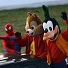 Spidey, Alvin and Goofy