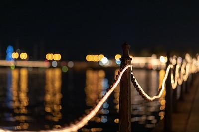 Matanzas Bay at Night