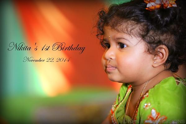 Nikita's 1st Birthday Celebration