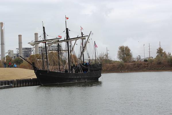 nina and pinta ship 2014