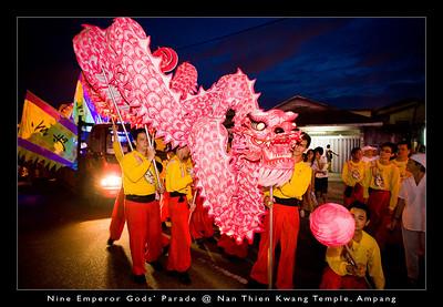 Nine Emperor Gods' Parade @ Nan Thien Kwang Temple