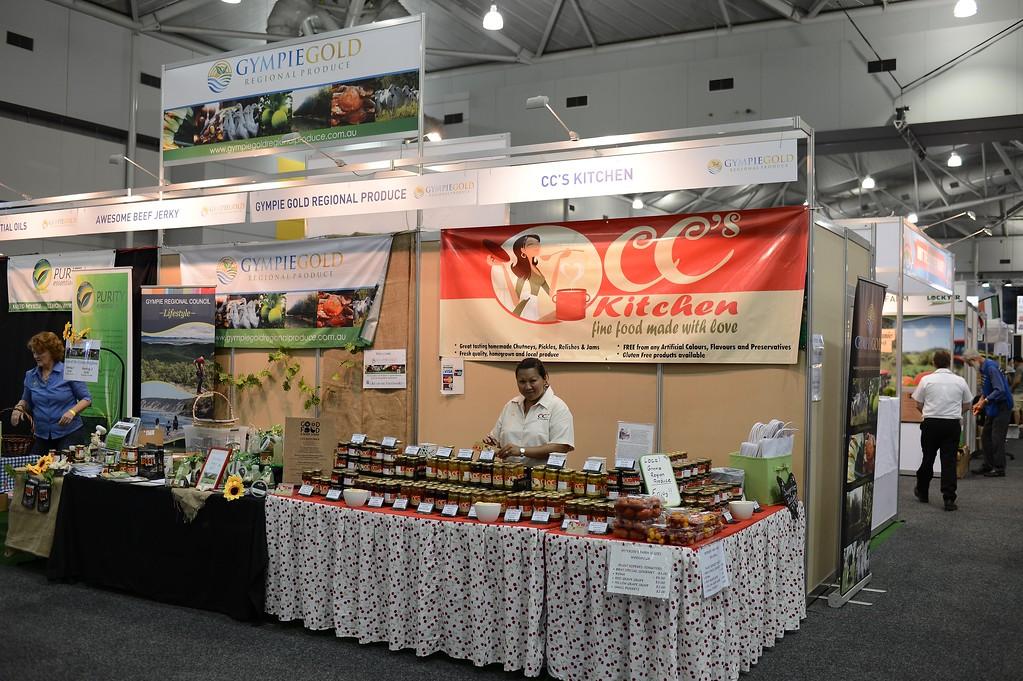 """CC's Kitchen - 2014 Good Food & Wine Show, Brisbane Convention & Exhibition Centre, 17-19 October. Photos by Des Thureson - <a href=""""http://disci.smugmug.com"""">http://disci.smugmug.com</a>."""