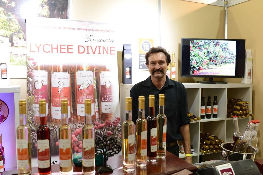 "Tomarata Lychee Divine - 2014 Good Food & Wine Show, Brisbane Convention & Exhibition Centre, 17-19 October. Photos by Des Thureson - <a href=""http://disci.smugmug.com"">http://disci.smugmug.com</a>."