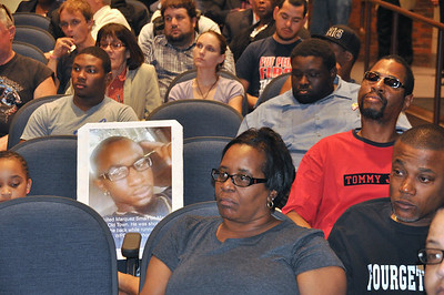 #Noferguson here' Community Forum Aug 28, 2014