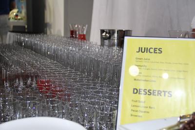 A juice bar. Nice touch, Nokia.