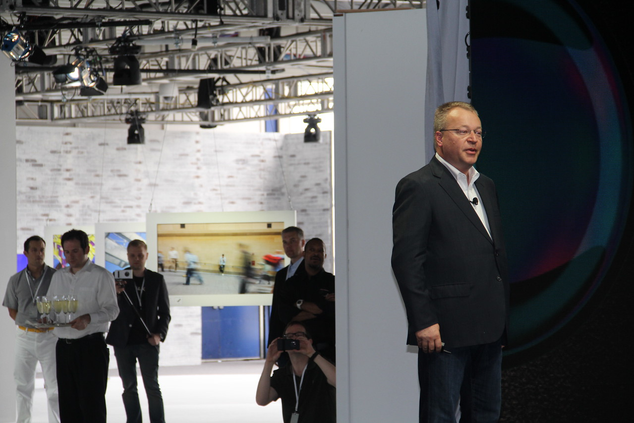 Nokia CEO Stephen Elop wraps up the Lumia 1020 press conference.
