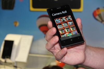 The Nokia Lumia 1020's photo gallery.
