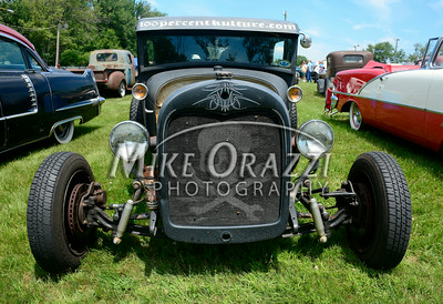 6 /28/2014 Mike Orazzi | Staff The Rumblers Nomads Car Show at the Terryville Fair Grounds on Saturday morning.
