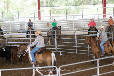 Lost Pines Cowboy Church Team Penning