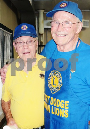 Don Henchaw and Tony Doran