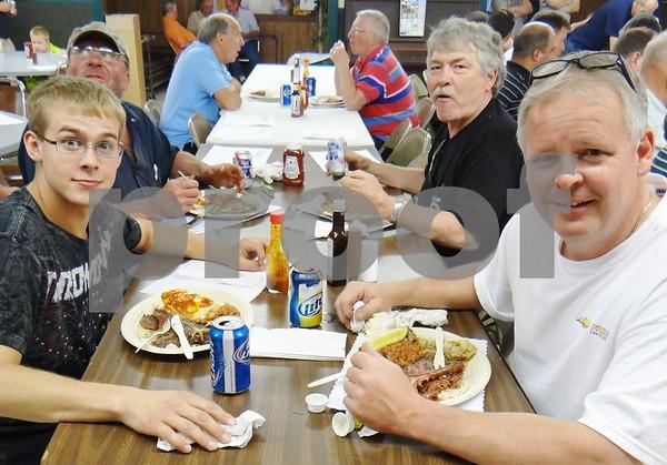 Jordan Lacina, Don Peterson, Don Halligan, and Dave Doughty.