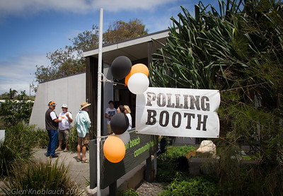 Noosa Deamalgamation Voting day 9th March 2013