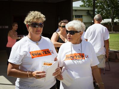 Noosa De-amalgamation voting day