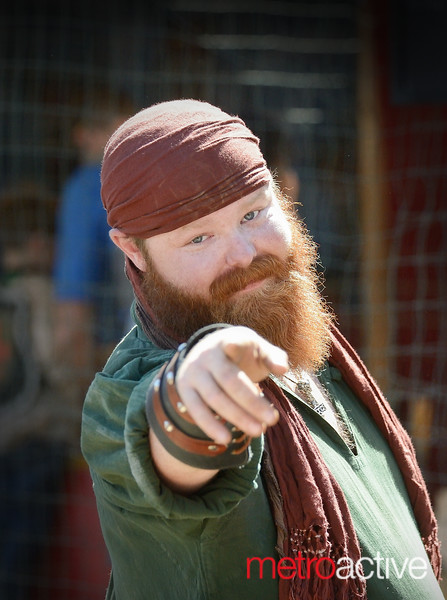 Nick McGill of Nor Cal Ren Faire  ~ Pirate Day  24 Setp 2016