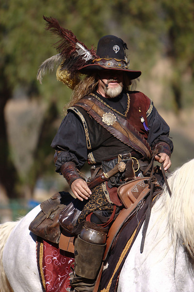 Master of ceremonies for the joust, and sheriff for the faire.