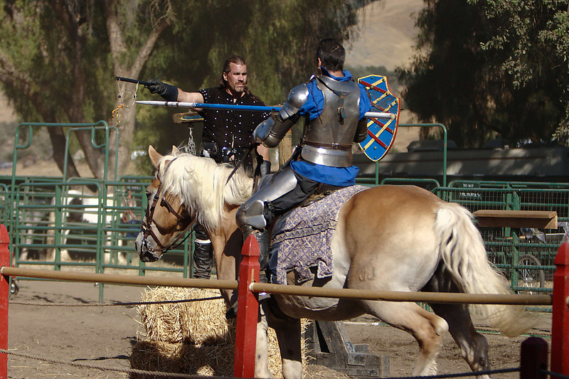 "Some ""games of skill"" before the real jousting begins."