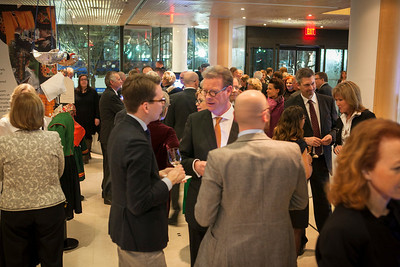 "Nordic Cool kick-off event at the Embassy of Sweden in Washington, D.C. on February 18th, 2013. ""Globalization and Migration,"" will be highlighted throughout 2013 as the new programmatic theme."