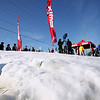 Record-Eagle/Keith King<br /> Ice slowly melts on a course Saturday, October 22, 2011 at Brick Wheels which was utilized for the second annual Nordic Fest. The event, which allowed cross-country skiers to race against the clock, is the Michigan Cup opener.