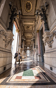 Loggia outside Le Grand Foyer
