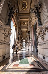 Loggia outside Le Grand Foyer