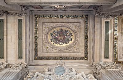 Loggia ceiling art