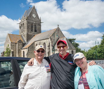 Steve's parents joined our group for the day.  His father is a veteran of WWII and the D-Day invasion.
