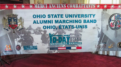 A closer look at the banner (photo courtesy Judy Baird)