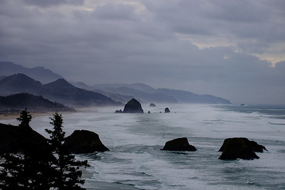 Ecola looking south