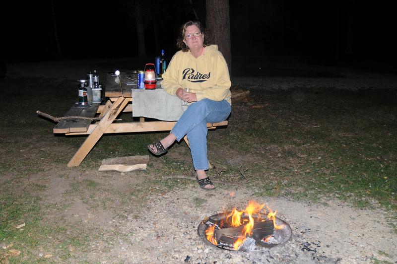 Sing around the campfire...