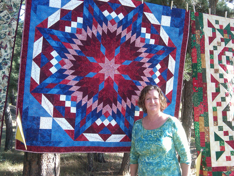 Cynthia's favorite from the Black Hills quilt show.