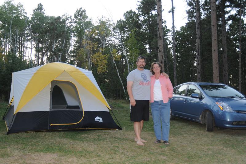 """""""Car camping"""" indeed."""