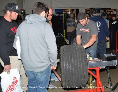 North East Racing Parts & Trade Show   Syracuse .NY.  23 Nov 2019    RICK at the RACES