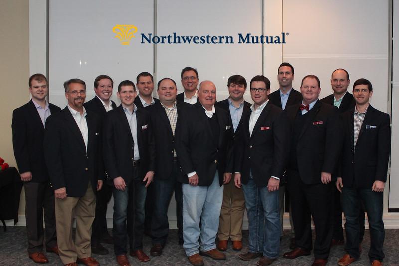 Northwestern Mutual Champions Dinner 2016
