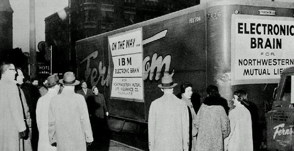 1957, first mainframe comes to NML